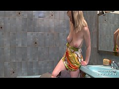 Amateur french mom with big milky tits and big ...