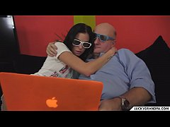 teen makes netflix & chill with her grandpa