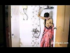 Young Mumbai College Teen In Bathroom Teasing S...