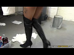 Taylor Luxxx Gets Gangbanged and Facialed