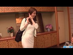Aya Saito feels excited and aroused along two m...