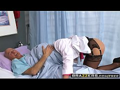 Slutty milf doctor (Phoenix Marie) takes any di...