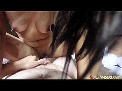 Horny Indo teen rides wild and gets surprise lo...