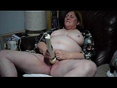 58yr old GILF wife masturbates
