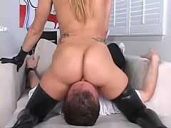 Big Butt Face sitting hot fat ass women in face...