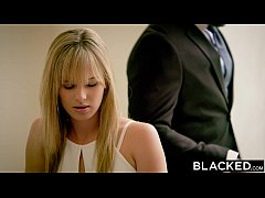 BLACKED Blonde fiance Jillian Janson gets huge ...