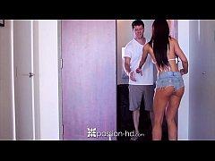Passion-HD - Curvy brunette Rahyndee James ride...
