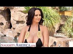 Naughty America - Ava Addams fucks her son's fr...