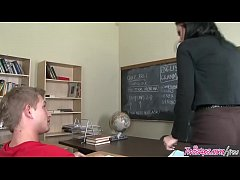 Naughty teacher (Mason Moore) fucks student in ...