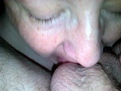 married bbw sucks off young stud and films it f...