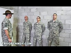 Gay Drill Sergeant Gives Good Anal Training (tp...