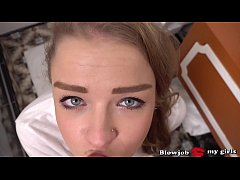 Teen Alexa Flaxy Tries First  Hard Deepthroat