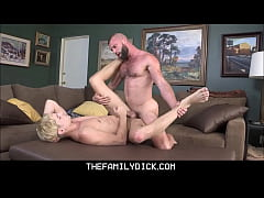 Blonde Twink Boy Stepson Taylor Reign Sex With ...