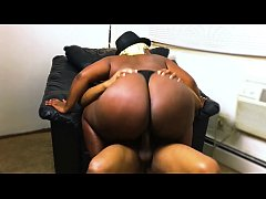 Big Ebony BBW Booty Cowgirl Compilation | 1 Yea...