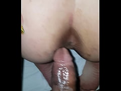 Savage Bbc To Big for Anal so i Nutted in her W...