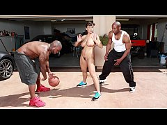 BANGBROS - Interracial Love and Basketball With...