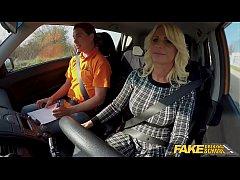 Fake Driving School Blonde MILF Tiffany Russo F...