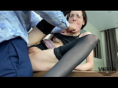 DIRECTOR FUCKED WICKED TEACHER AND CUM ON GLASS...