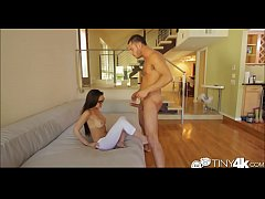 Dillion Harper college girl stuffed with cock