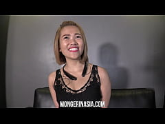 Giggly Asian Teen Begs to Get Knocked Up!