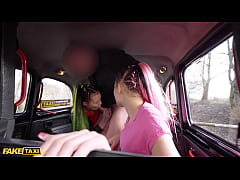 Fake Taxi Identical Sisters Lady Zee & Sandra Z...
