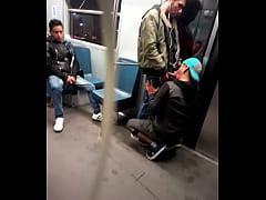 Mamada en el metro