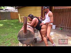 EVASIVE ANGLES BBW Butt Crushers - She has a pe...