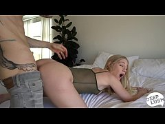 Big Butt Teen Emma Starletto Amateur Creampie S...