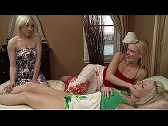 Darryl Hanah, Lily LaBeau and Proxy Paige Lesbi...