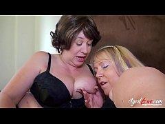 AgedLovE Two Mature Ladies in Hardcore Video