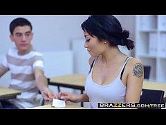 Brazzers - Big Tits at School - Big Tits In His...