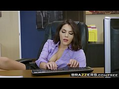 Brazzers - Big Tits at Work - All Natural Inter...
