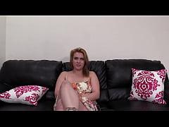Multi-Orgasmic Ginger Josline Spanked In Casting!