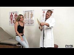 WANKZ- Sexy College Blonde Trisha Exploited at ...