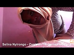 Selina Nyirongo shakes her a$$ and masturbates