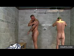 Big Cock Gay Sex In The Shower