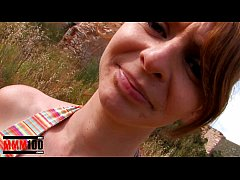 Little red head gets it brutally in her tight l...