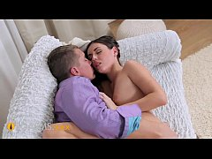 ORGASMS Intimate sensations natural teen brunet...