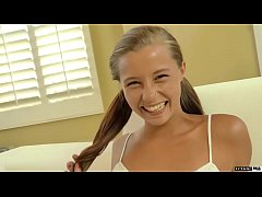 Cute Teen Carolina Sweets Takes Her Stepfathers...