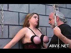 Sexy extraordinary bondage home porn