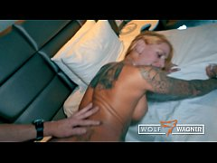 Naughty tattoo model Harleen Van Hynten BANGED ...