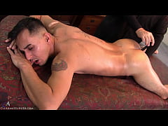 Will's thighs & butt quivered when properly sti...