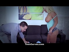 TeenCurves - Hot Blonde PAWG Ass Worshipped And...