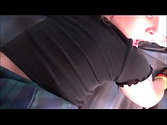 Thick Blonde Step Sister Surprises Step Brother...