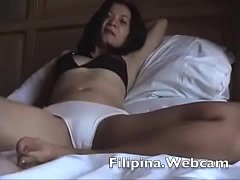 Filipina.Webcam model does hotel masterbation s...