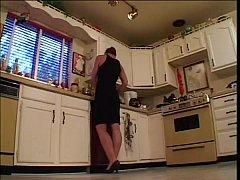 Fucking best friend's mom in kitchen
