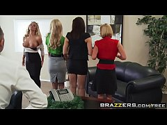 Brazzers - Big Tits at Work - Office 4-Play Chr...