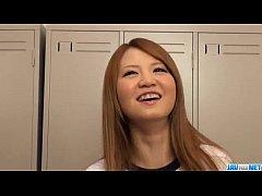 Asian schoolgirl,Sakamoto Hikari, amazing solo...