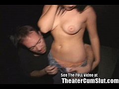Sierra Having Group Sex In a Porno Theater For ...