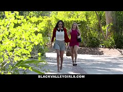 BlackValleyGirls- Hot Teen Julie Kay Steals and...